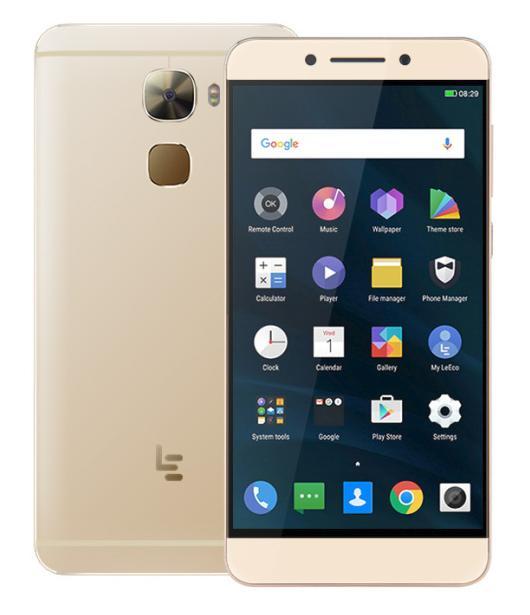 "Précommande : Smartphone 5.5"" LeTV Leeco Le Pro 3 X722 Or - Full HD, Snapdragon 820, RAM 4 Go, ROM 32 Go (Avec B20)"