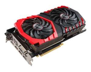Carte graphique MSI GeForce GTX 1080 Ti GAMING X - 11 Go DDR5X