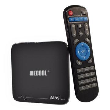 Precommande : Box TV Mecool M8S Pro Plus - 4K, Amlogic S905X, RAM 2 Go, ROM 16 Go