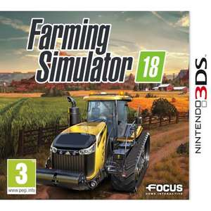 Farming Simulator 2018 sur Nintendo 3DS