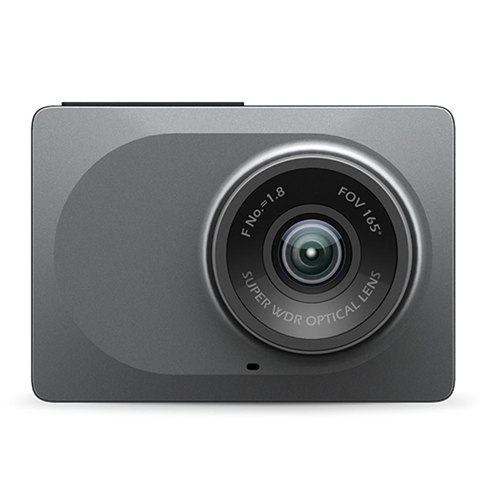 """Caméra DashCam Xiaomi Yi Smart Car DVR - Gris, Ecran 2.7"""", Wi-Fi, 1080p/60fps, Vision nocturne"""