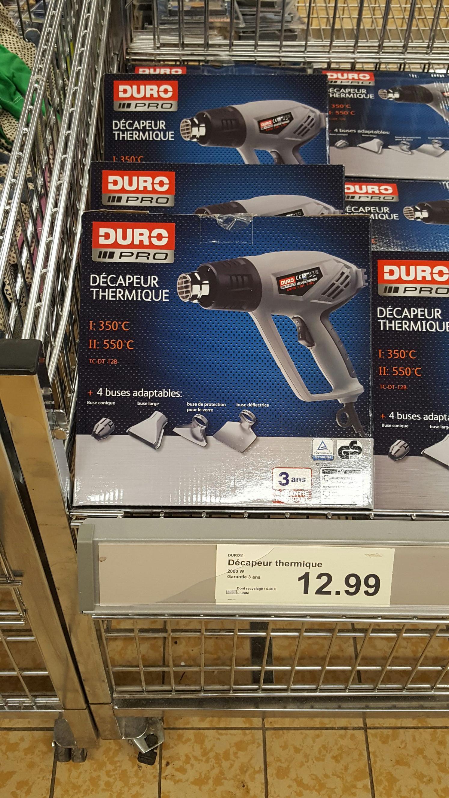 Décapeur thermique Duro Pro - 2000W