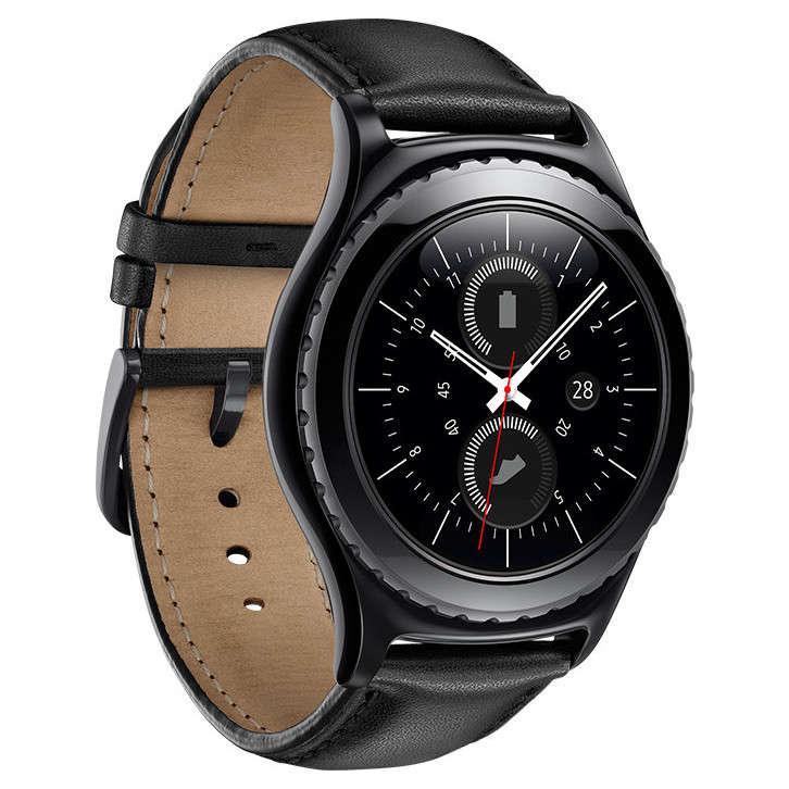 Montre connectée Samsung Gear S2 Classic - Noir (via ODR de 100€)