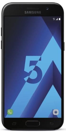 """Smartphone 5.2"""" Samsung Galaxy A5 2017 Noir - RAM 3Go, 32Go (via ODR 50€)"""