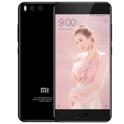 "Smartphone 5.15"" Xiaomi Mi6 Noir - Full HD, Snapdragon 835, RAM 6 Go, (Avec B20) ROM 128 Go"