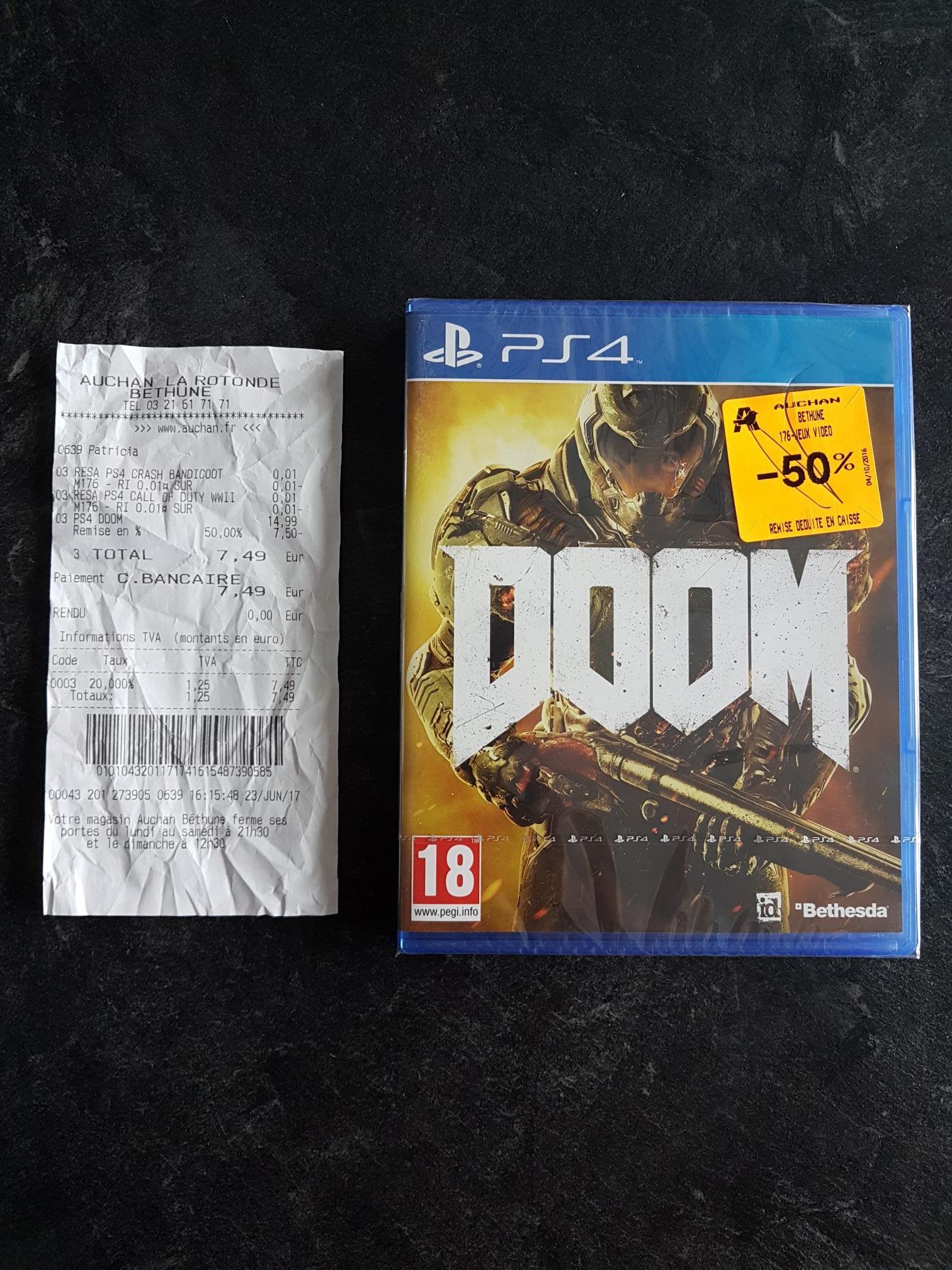 Doom sur PS4