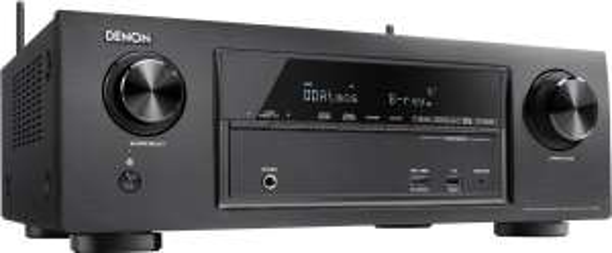 Ampli réseau HC 7.2 Denon AVR-X1300W - Pass-through HDMI, 4K / 60p, 3D, HDR, HDCP 2.2, Dolby Atmos (5.2.2), DTS:X, MultEQ XT