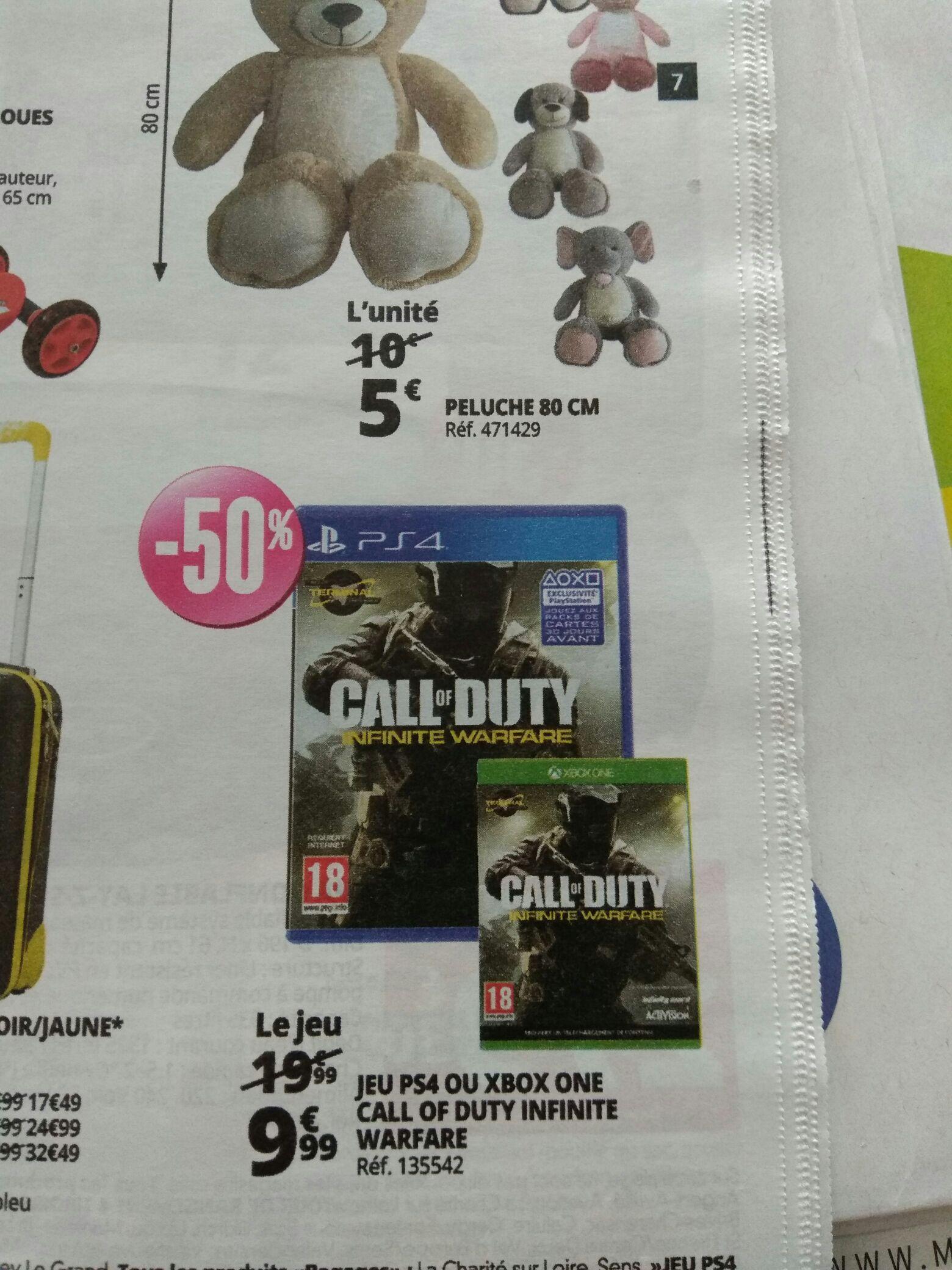 Jeu Call of duty : Infinite warfare sur PS4 ou Xbox One