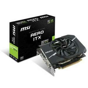 Carte graphique MSI GTX 1070 Aero ITX 8G OC (Via ODR 30€)
