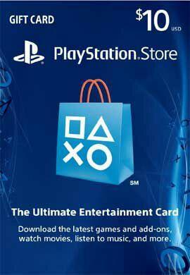 Code de 10$ (9.39€) de crédit sur le PlayStation Store (US)