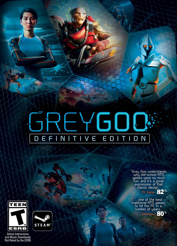 Grey Goo: Definitive Edition sur PC (Dématérialisé)