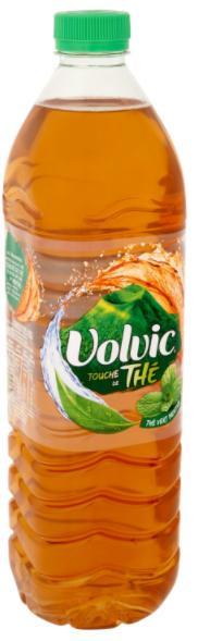 Bouteille de Volvic Thé 1.5L gratuite (via ODR)