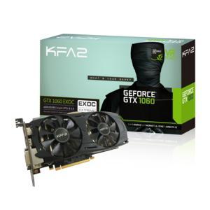 Carte graphique KFA2 GeForce GTX 1060 EXOC 6 Go + Rocket League sur PC