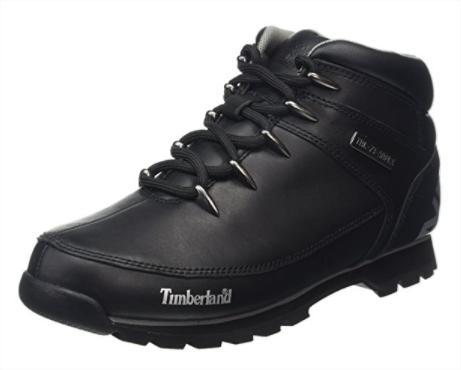 Bottines Timberland Chukka Euro Sprint Hiker - Taille 42 et 44, Noir