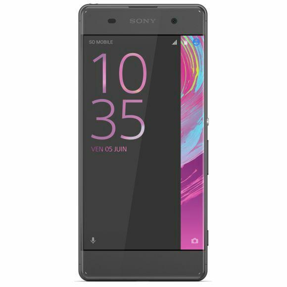 """Smartphone 5"""" Sony Xperia XA - 2 Go RAM, 16 Go, Noir"""