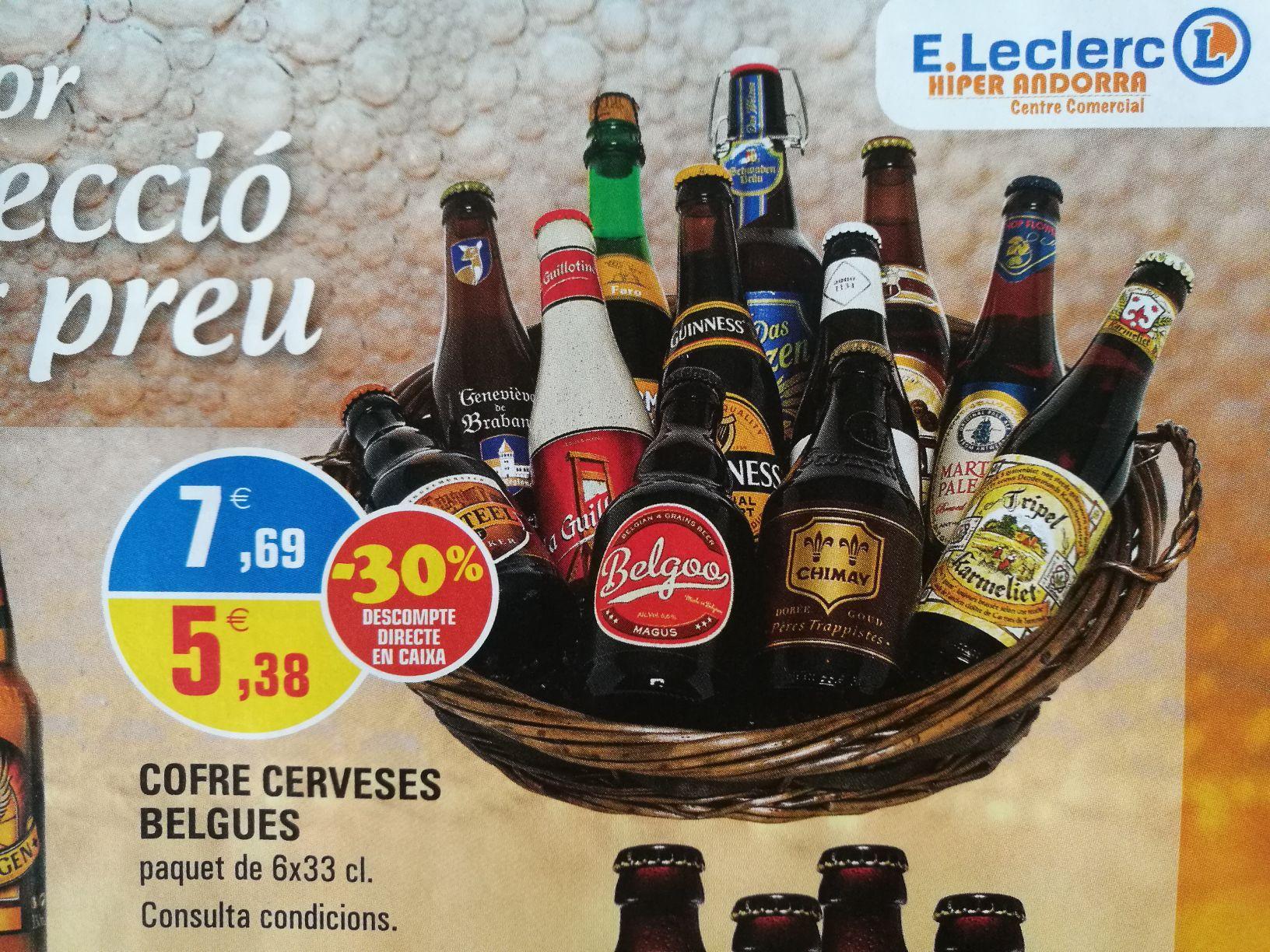 Pack de 6 bières belges premium - 6 x 33 cl