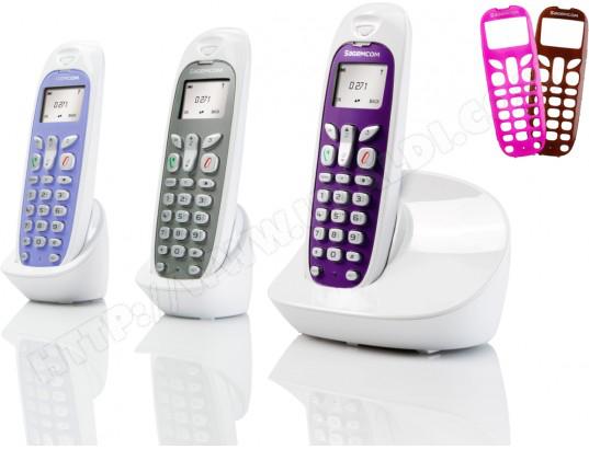 Téléphone sans fil Sagem D271 Trio ou D271A Duo (Avec ODR de 20€)