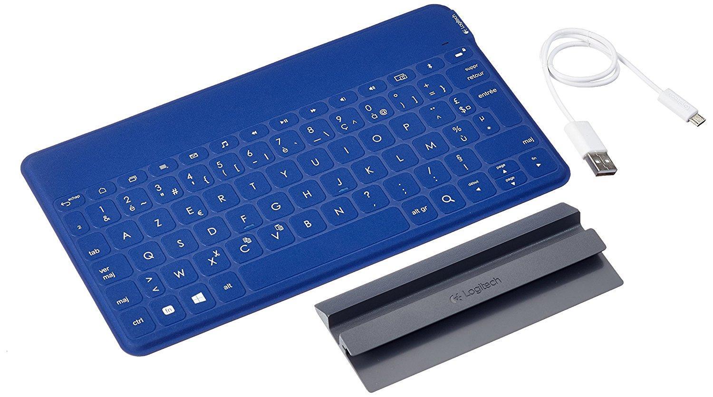 Clavier Azerty Logitech Keys-To-Go pour tablettes