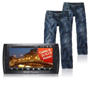 Lot de deux Jeans Homme H.I.S Randy + Archos 7C Home Tablet 8 Go