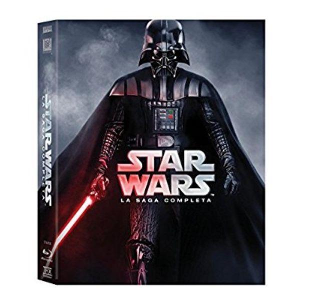 "Coffret Blu-ray Star Wars - L""intégrale de la saga - 2015 (VO uniquement)"