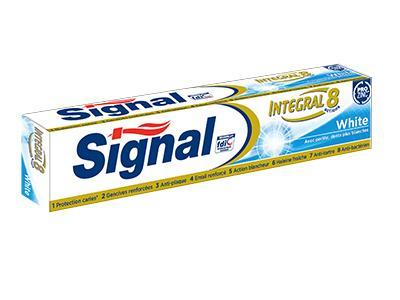 Tube de Dentifrice Signal Intégral 8 White (Via BDR)