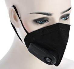 Masque Anti-pollution Xiaomi avec Filtre à Charbon Rechargeable - Coloris au choix