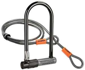 Antivol Standard Kryptonite KryptoLok Series 2 en U avec Câble Flexible et Cadenas