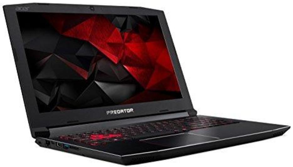 """PC Portable 15.6"""" Acer Predator Helios 300 G3-571-77QK - FHD, i7-7700HQ, RAM 16Go, SSD 256Go, GTX 1060 6Go, Win10, Qwerty (Frais de douanes inclus)"""