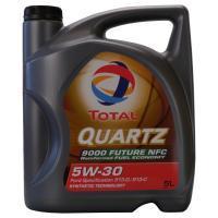 Bidon d'Huile moteur Total Quatz 9000 Future NFC - 5W-30, 5L