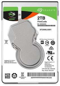 "Disque dur interne 2.5"" Seagate Mobile SSHD FireCuda - 2To"
