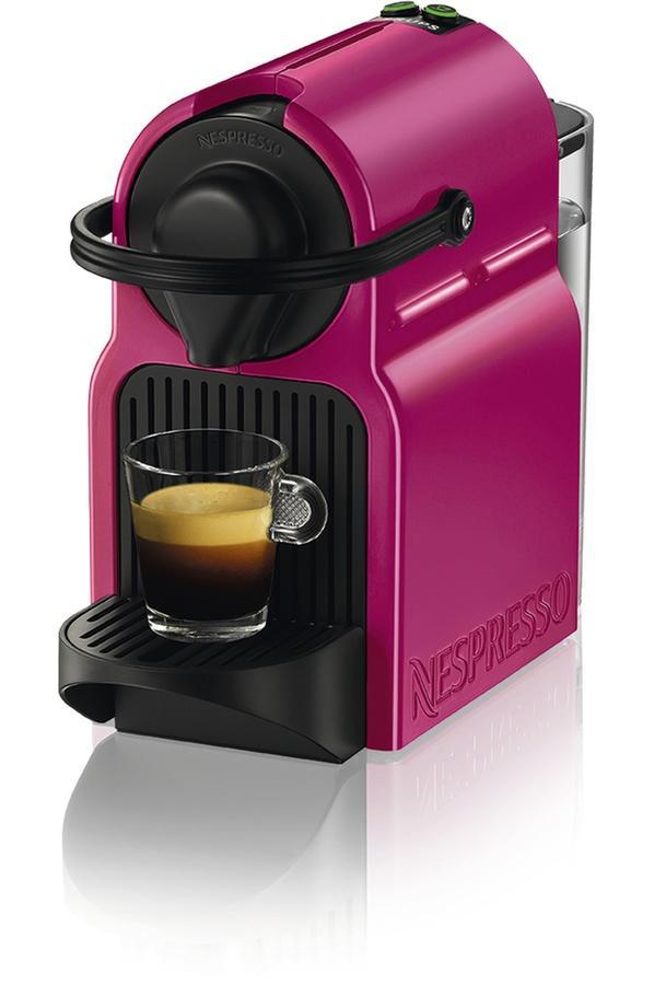 Machine à Café Nespresso Krups Inissia YY2289FD - Fushia + 50 Capsules offertes dès 100 Capsules achetées (via ODR de 30€)