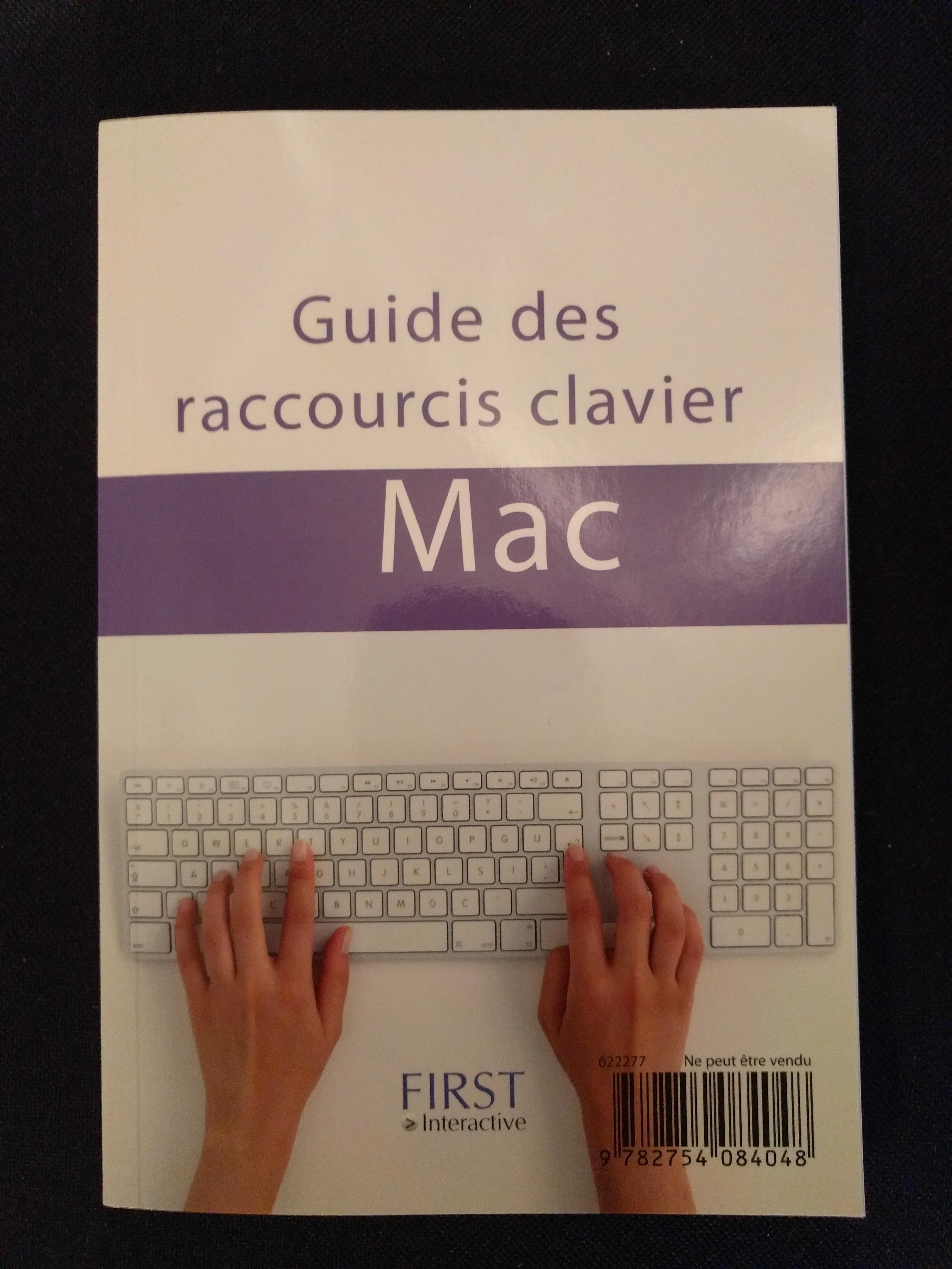 Guide des raccourcis clavier PC & Mac