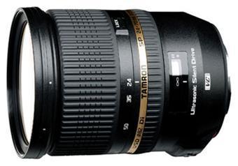 Objectif reflex Tamron 24-70mm 2,8 SP Di VC USD - Monture Nikon ou Canon