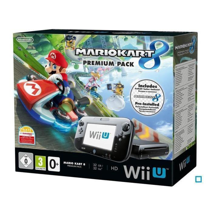Console Nintendo Wii U + Mario Kart 8 Premium