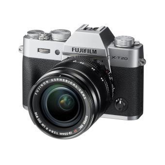 Appareil photo Hybride Fujifilm X-T20 Argent - Objectif 18-55 mm F2.8-4