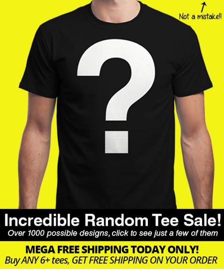 Tee-shirt aléatoire Qwertee