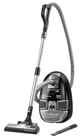 Aspirateur Traîneau avec Sac Rowenta  Silence Force Extrême Compact RO5735OA Noir - 3,5L, 750W