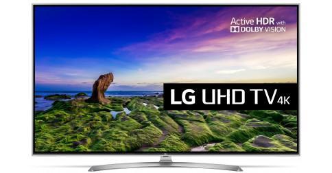 "TV 65"" LG 65UJ750V LED, HDR, 4 K - Smart TV webOS 3.5"