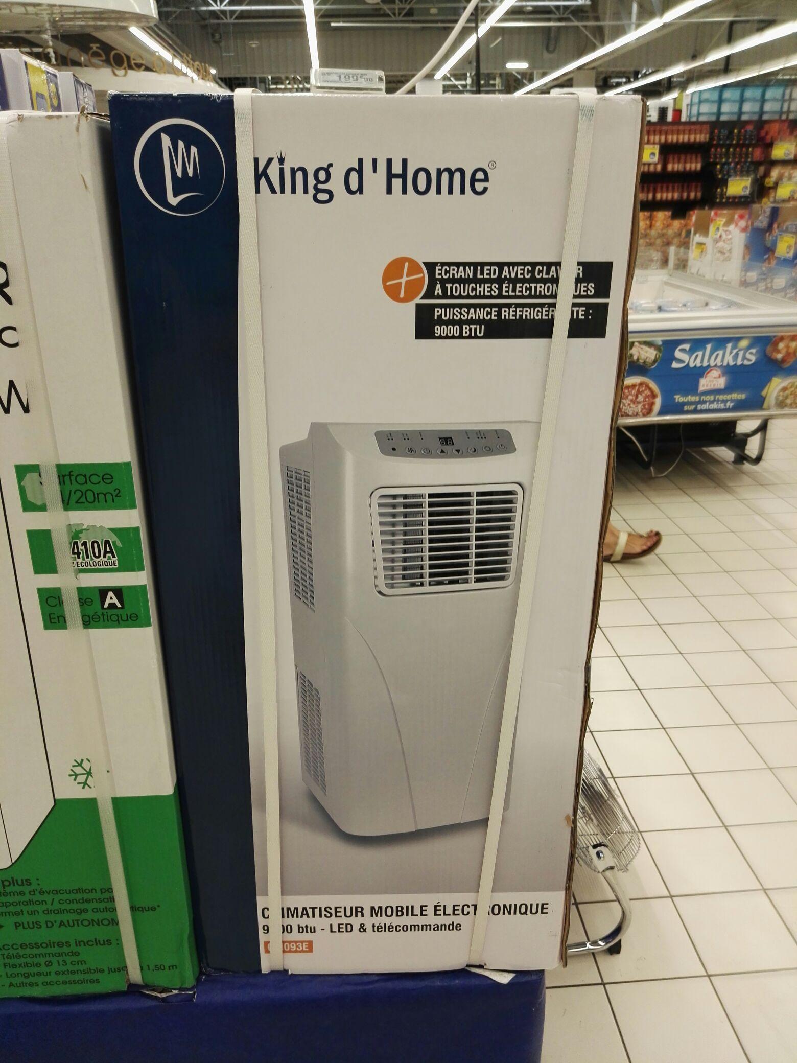 Climatiseur king d'home - 9000 BTU