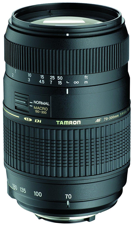 Objectif Photo Tamron AF 70-300mm F/4-5,6 Di LD IF Macro 1/2 - Montures Sony/Minolta/Nikon