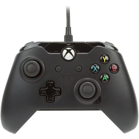 Manette filaire PDP compatible Xbox One et PC - Noir
