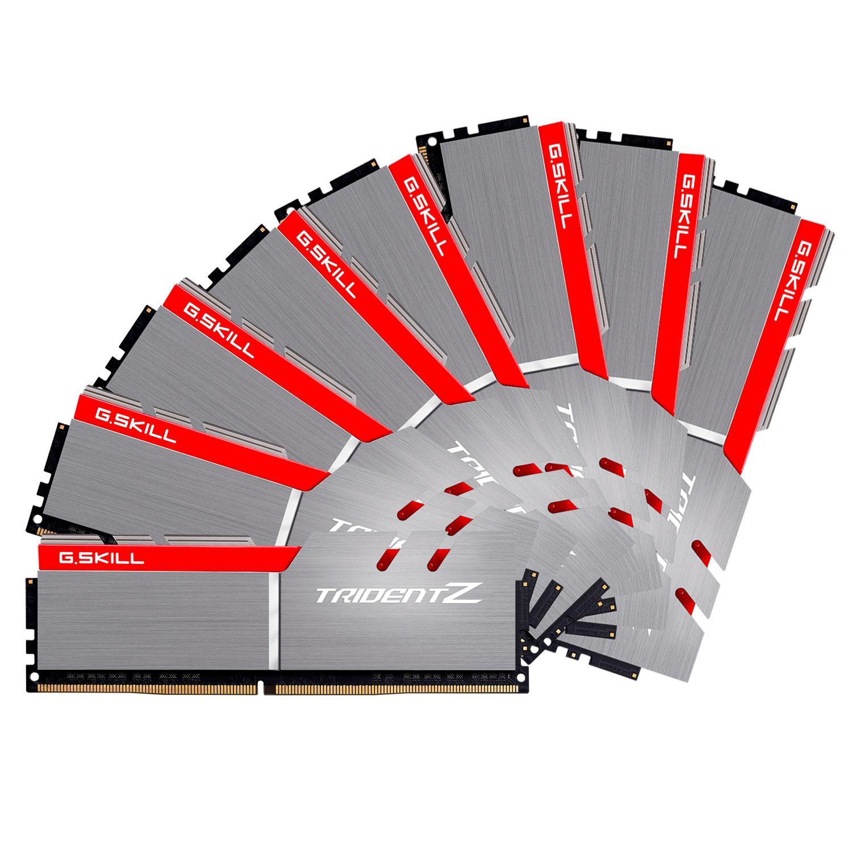 Kit mémoire DDR4 G. Skill Trident Z 128 Go ( 8x16 Go) - 3200 MHz, CL16