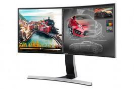 Écran PC 34' Samsung SyncMaster S34E790C - Incurvé, 3440x1440 (UWQHD)