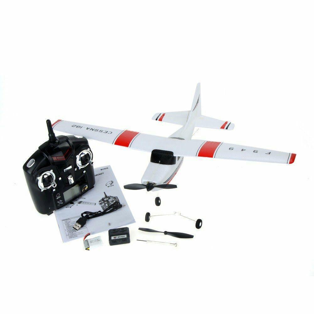 Avion modelisme rc télécommandé cessna 182 f949