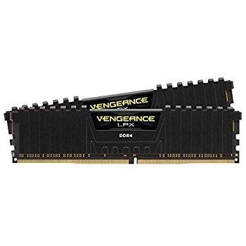 Kit mémoire Ram DDR4 Corsair Vengeance LPX 16Go (2x8Go) - 3200Mhz CL16 XMP 2.0