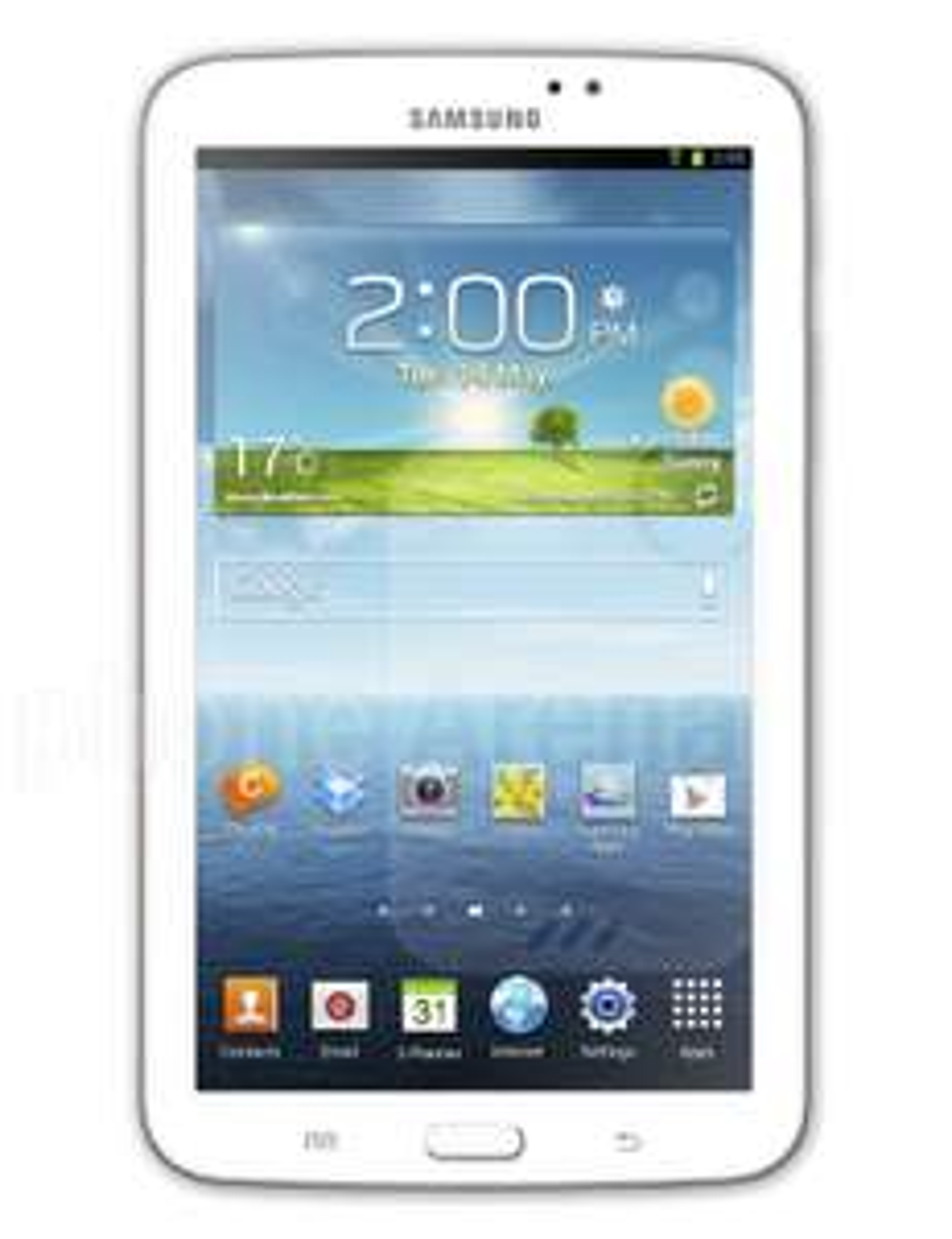 """Tablette 7"""" Samsung Galaxy Tab 3 - 16 Go Blanc"""