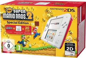 Console Nintendo 2DS + Mario Kart ou New Super Mario Bros 2 + 1 Jeu au choix : Zelda a Link between Worlds ou Mario Party ou Yoshi island (via 3.8€ fidélité)
