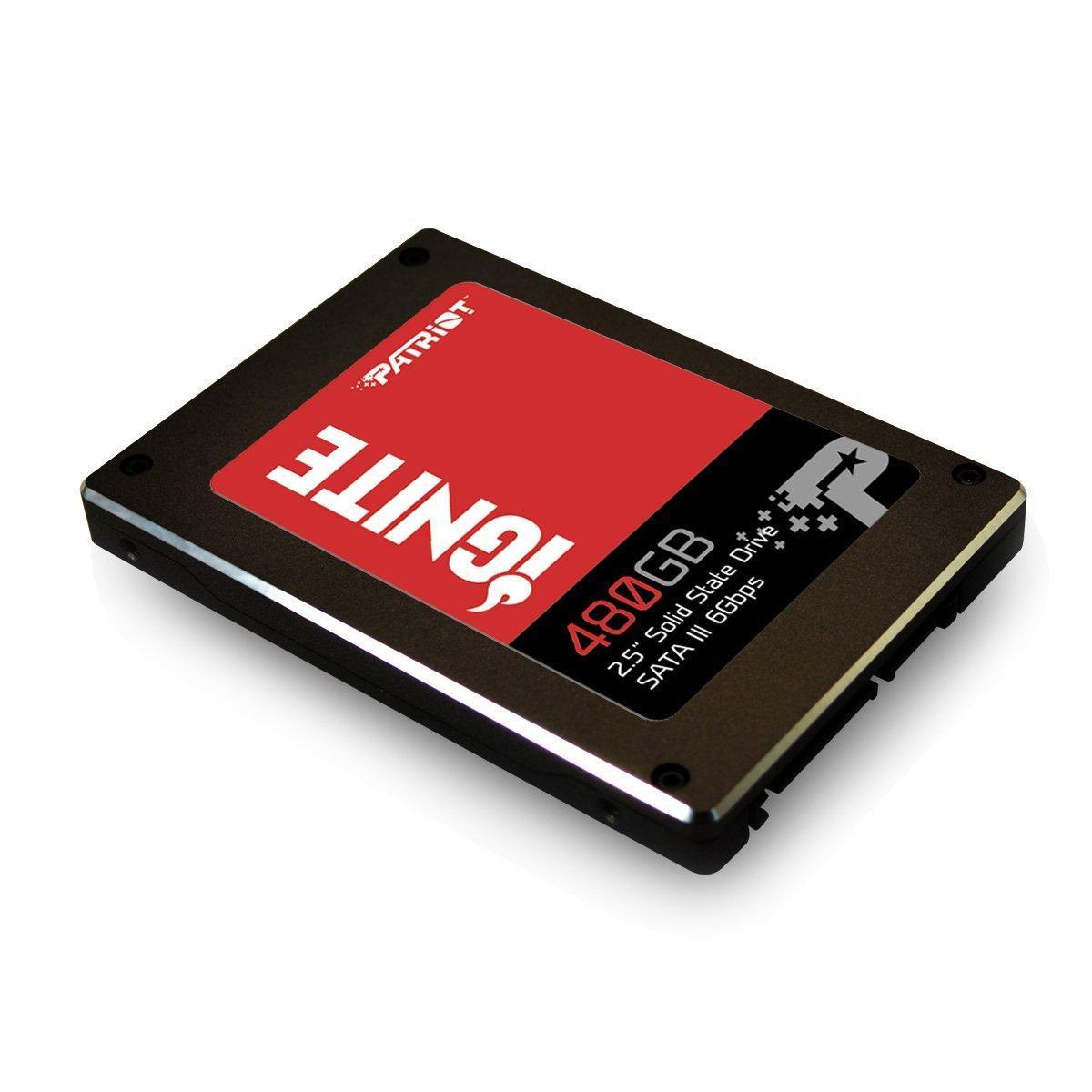 "SSD interne 2.5"" Patriot Ignite (MLC) - 480 Go"
