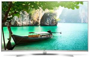 "TV LED 55"" LG 55UH850V - Super UHD 4K, HDR Super, IPS, Quantum Display 3D"