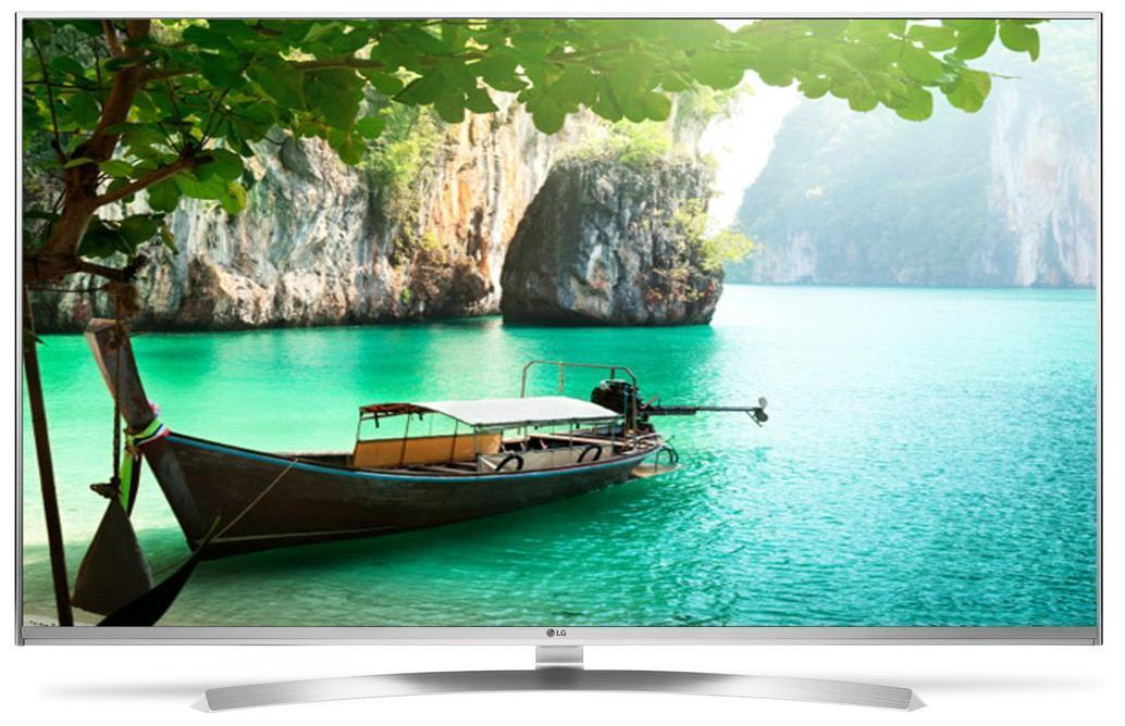 "TV LED 55"" LG 55UH850V - Super UHD 4K, HDR Super, IPS, Quantum Display 3D"